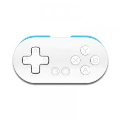 8Bitdo Zero Mini Wireless Bluetooth Game Controller Gamepad Joystick Selfie Blue&White