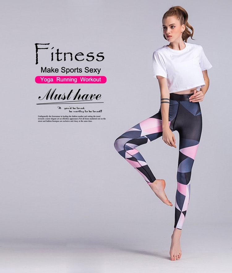 Sportswear  Yoga Leggings Women Compression Pants Sport Leggings Yoga Pants  Women Sport Leggings  Gym Clothes Fitness Leggings Running Legging Running  ... 5a4b040b2cfa