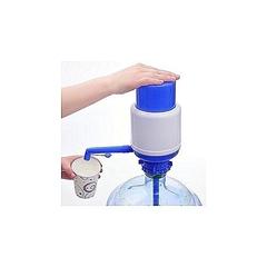 Hand Press Water Dispenser blue normal size