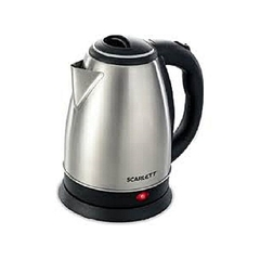 Scarlett Cordless automatic  Electric Kettle - 2.0 LITRES black & silver 2ltrs
