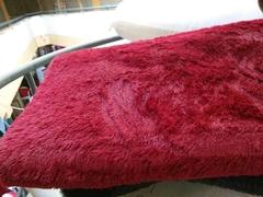Fluffy Carpet 5*8 red 5*8