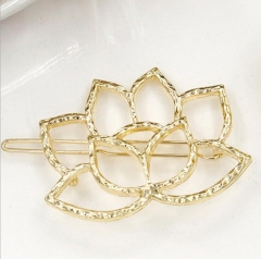 Anogol Free Gift Fashion Hairpin gold average