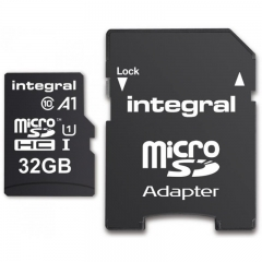 INTEGRAL SMART PHONES AND TABLETS MEMORY CARDS Black Integral 32GB Memory cards