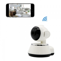 Home Security Camera Wifi IP Dog Camera with Pan/Tilt and Motion Detection  for Baby/Elder/Pet white Wireless camera