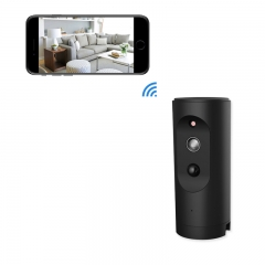 1080P Home Security Camera Indoor WiFi Wireless Security Surveillance Camera System for Baby/Pet black Ip camera