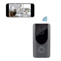 Wireless Doorbell Smart Door Bells Home Security Bell Camera  with Real-Time Video black doorbell camera with battery