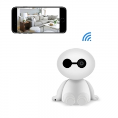 Wireless Ip Camera 1080P Robot 2.0MP Security Camera Night Vision Alarm Audio Baby Monitor Pan Tilt white 960P