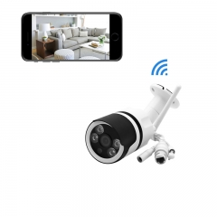 HD WiFi Wireless Outdoor Security Camera,Home Surveillance Camera, IP66 Weatherproof, Night Vision white ip camera