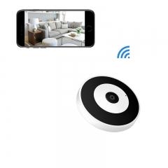 Wireless Home Security Camera, HD 1080P 360 Degree Panoramic Home Security Camera, Baby Pet Monitor white ip camera