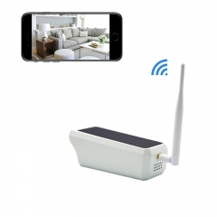 Wireless Camera Security Camera WIFI Network Mobile Phone Remote Monitoring IP Camera 1080P 2MP silver solar powered c amera