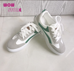 WOW STORE Comfortable Flat White Women Shoes Fashion Ladies Shoes white 36