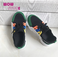 WOW STORE Summer Baby Boy New Mesh Fabric Breathable Sports Shoes Girl kids Casual Shoes green 33
