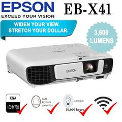 Epson EB-X41 Projector white 24 x 30 x 8