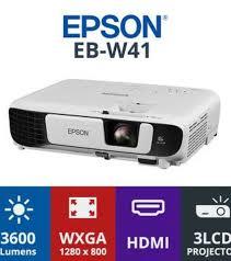 Epson EB-W41 Projector white 24 x 30 x 8