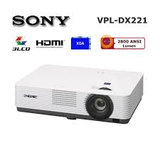 Sony VPL-DX 221 Projector white 23 x 33 x 8