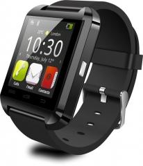 Bluetooth U8 Smart Watch with Anti lost Pedometer Sedentary Sleep monitor Stopwatch Alarm black one size