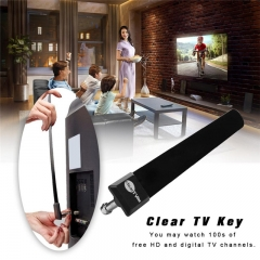 Digital Aerial Clear TV Key HDTV Free TV Stick Indoor TV Aerial 1080p HD For Home EU US Standard