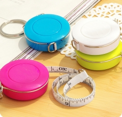 Retractable Ruler Tape Measure Sewing Cloth Dieting 1.5 Meter Tailor Seamstress Measure Accessories yellow one size
