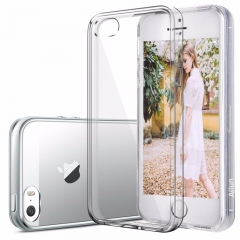 Shockproof phone battery coque,cover,case silicon silicone for apple iphone4 4s 5 5s SE 6s transparent iphone4