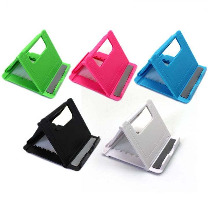 Universal Folding phone support Plastic holder desktop stand for Smartphone & Tablet Support Phone random one size