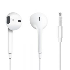 EarPods with 3.5mm Headphones Earphones Remote Microphone for phone with a 3.5mm interface white