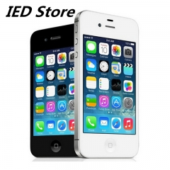 Refurbished Phone:Unlocked Apple iPhone 4s, Smartphone 8MP WIF 16GB ROM mobile phone white