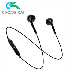 High Quality Sports Bluetooth Earphones Headset Earpiece Headphones For TECNO Infinix Iphone Phones black