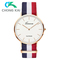 Quartz watches men fashion personality belt watch male student European and American style watche as picture one pair