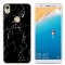 TECNO Camon CM/TECNO Camon CX air Phone Case Fitted Cover Soft TPU Colorful Back Cover black marble CM