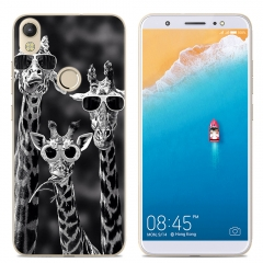 TECNO Camon CM Phone Case Fitted Cover Soft TPU Colorful Back Cover sunglasser deer one size