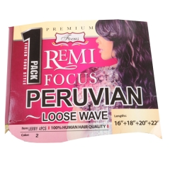 REMI FOCUS  PERUVIAN LOOSE WEAVE NO.2 16