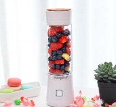 Juice glass, mini fruit, portable electric juice cup juicer, creative gift white