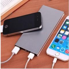 Ultra thin charging treasure 20000 Ma mobile power supply black 20000