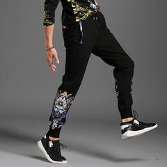 The trend of men's casual pants Korean men's casual pants pants feet Slim Nylon 380 g / m2 g808