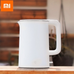 Original xiaomi mijia 1.5L Kettle Large Capacity Household Stainless Steel Automatic Power Cut white
