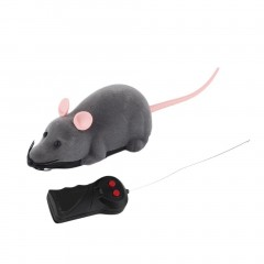 SuperMall Wireless Remote Control Mouse Plastic Electronic Rat Funny Motion Mice Toy