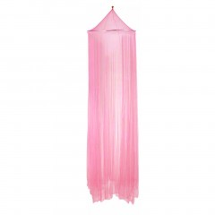 Outdoor Round Lace Insect Bed Canopy Netting Curtain Hung Dome Mosquito Nets light pink Ring diameter: 60cmnHeight: 250cmnCircumference of Bottom: 900cm
