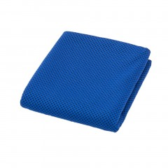 Quick Dry Icy Cooling Towel Fast Cooling Heatstroke Prevention Sweat Absorbing dark blue 90*30cm