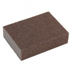 SpongeCarborundumBrushKitchenWashingCleaningKitchenCleanerToolNew dark brown AS picture shows 98 x 70 x 25mm/3.85 x 2.75 x 0.98 inch