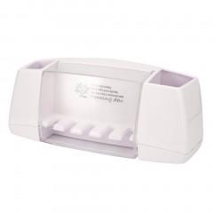Paste Type Multifunctional ToothpasteToothbrush Holder Bathroom Storage Rack
