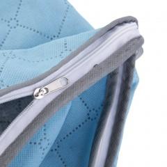 Foldable Room Blanket Quilt Clothing Bag Storage Box Holder Organizer New Blue