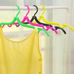Coat Hanger Rack Portable Foldable Hanger Folding Plastic For Travel New