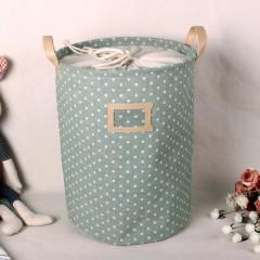 Waterproof Foldable Laundry Bag Dirty Clothes Basket Linen Bin Storage Folded