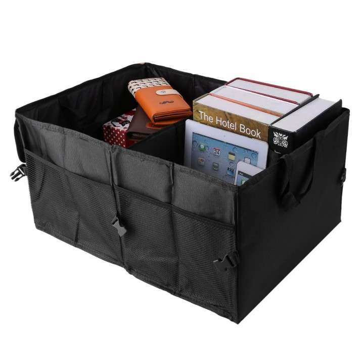 Folding Car Back-Up Storage Box Trunk Bag Container Vehicles Organizer