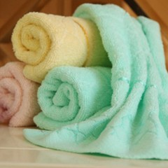 Full Cotton Face Cleaning Towel Absorbent Antibacterial Non-twist Towels