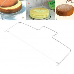 Adjustable Wire Cake Slicer Cutter Leveller Decorating Bread Wire Decor Tool Sliver approx. 330*140mm