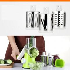 Multifunctional Vegetable Shredder Rotary Grater Slicer Roller Shape Handle