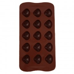 Shell Pattern Silicone Mould Cake Decor Chocolate Baking Mold Party Wedding Chocolate Approx.21 * 11 * 2cm(L * W * H)