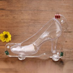 High-heeled Shoes Cake Mold Non-toxic Plastic Cake Decorating DIY Mold G0017