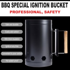Outdoor Camping Picnic Wood Burning Stove Barbecue Barrel Rapid Fire Stove